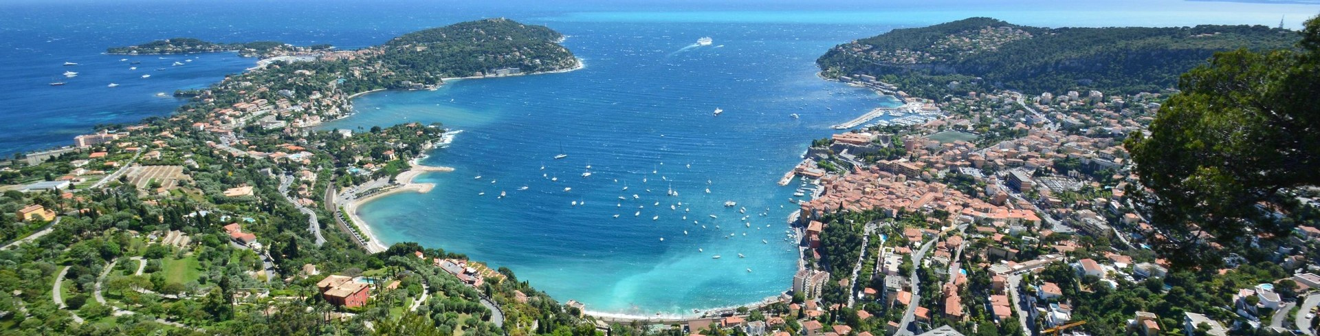 The Villefranche sur Mer Bay